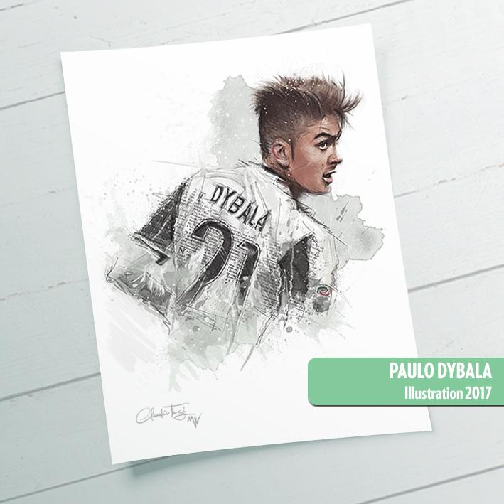 Paulo Dybala Mirror Walkers Claudio Tosi